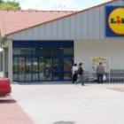 Supermarket Lidl v Sobranciach