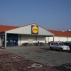Supermarket Lidl v Novej Bani