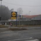 Supermarket Lidl v Brezne