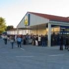 Supermarket Lidl v Fiľakove