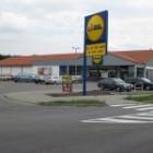 Supermarket Lidl v Leviciach