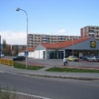 Supermarket Lidl v Vrbovom