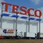 Supermarket Tesco v Kráľovskom Chlmci