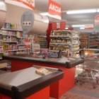 Supermarket CBA v Holíči