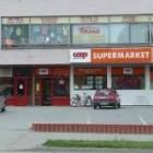 Supermarket COOP Jednota Supermarket v Šoporni